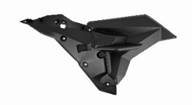 6122120022000 - MS Fuel tank right guard front deco board bottom plate -Tankverkleidung rechts vorne