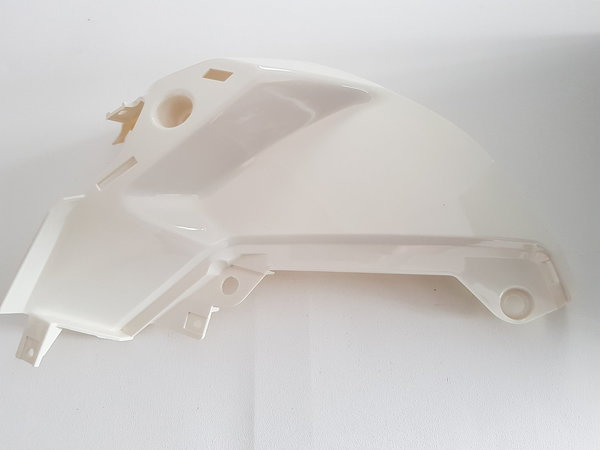 6115190004052 - FK12-SX Fuel tank left cover (white) - Tank Verkleidung links weiß