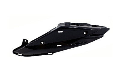 6115190017010 - FK12-SF-SX Left tail cover (black) - Linke Heckabdeckung