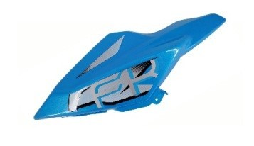 6115190007031 - SF Fuel tank left shield front deco panel (Blue) - Tank Verkleidung links blau