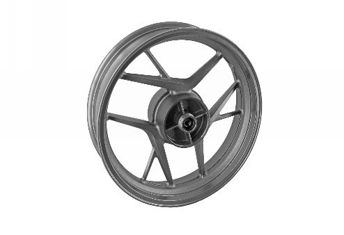 6104190002100 - FK12-SF Rear wheel (3.5×17 iron gray disc brake) - Hinterrad