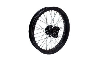 6104190008000 - SX Front wheel (net wheel 2.75×17 black disc brake) - Vorderradfelge