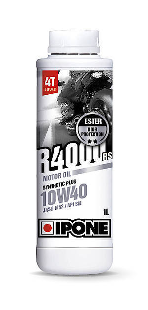 IPONE - Engine oil - 10W40 - full-synthetic R 4000 RS (API SM, JASO MA2) - Öl 10W40 vollsynthetisch